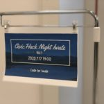 Civic Hack Night Iwate Vol.1を開催しました